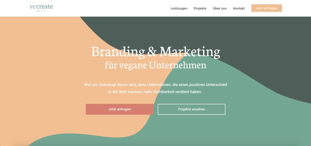 Strategischer Aufbau Website