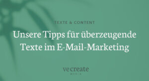 Texte E-Mail-Marketing